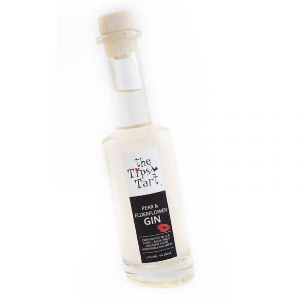 Pare and elderflower gin